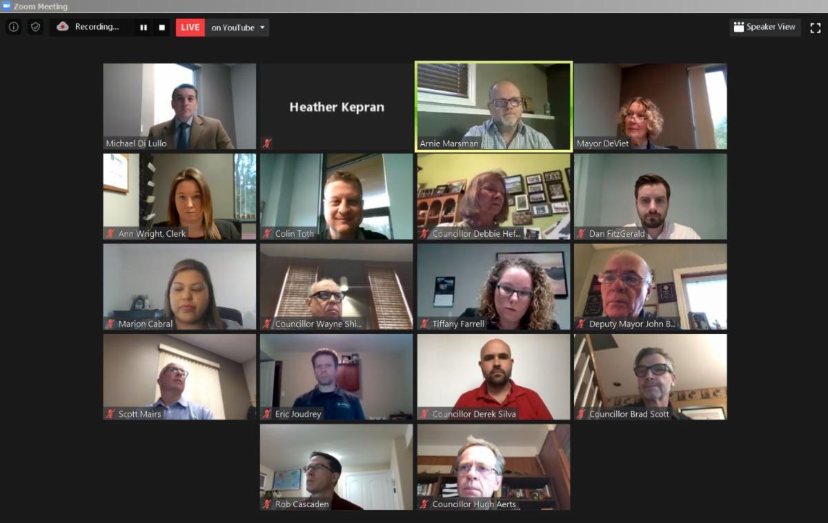 Zoom Council Meeting April 2020