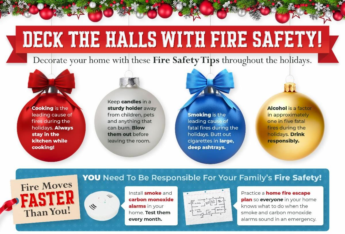 Fire Holiday Safety Tips