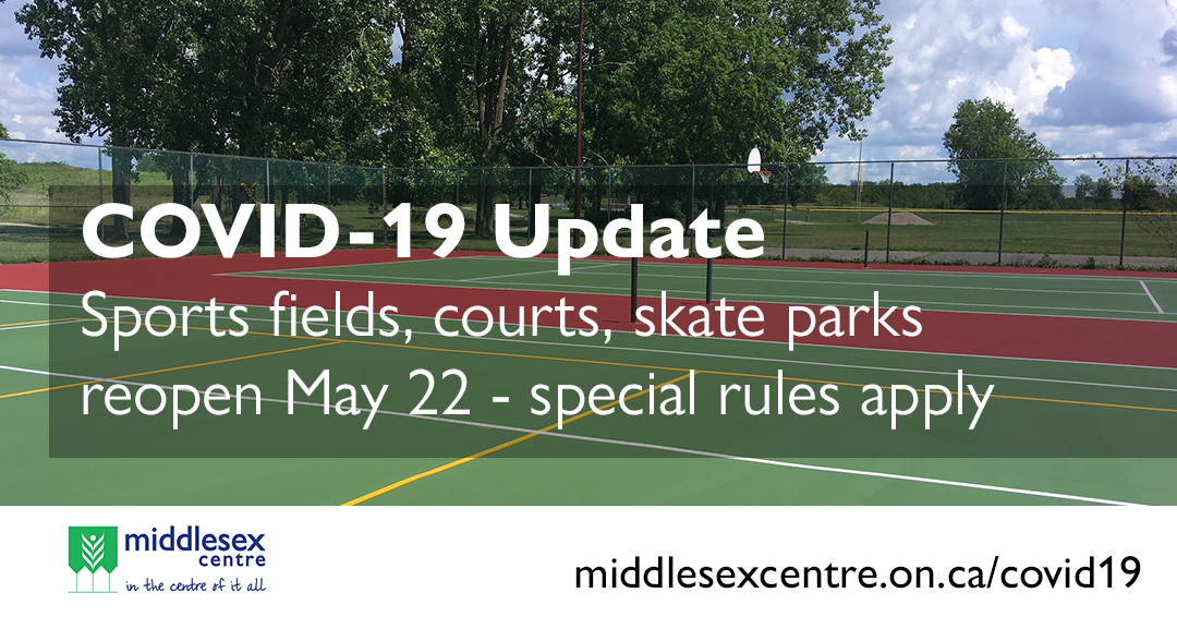 COVID-19 Sports Field Update