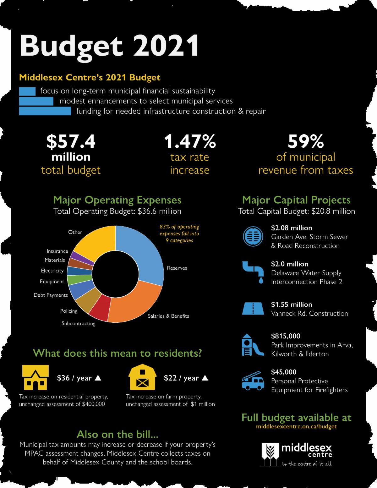 Budget 2021 Infographic