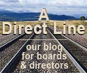 A Direct Line -- our blog for boards & directors