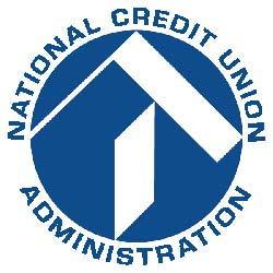 NCUA's lovely blue logo