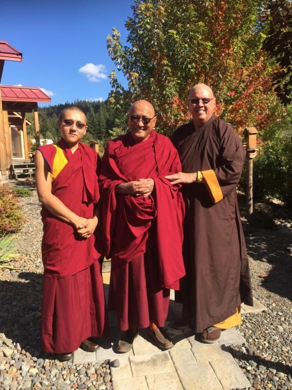 Ngawang Jorden & Tenzin Khechok