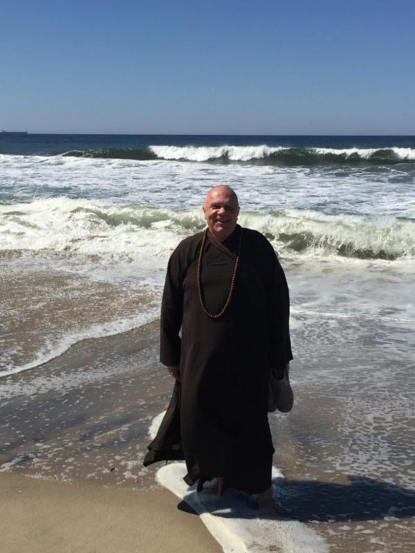 Thay Z at the ocean
