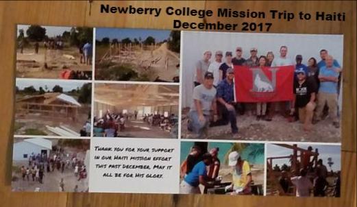 Mission to Haiti Dec 2017
