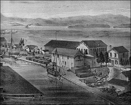 Port in 1878