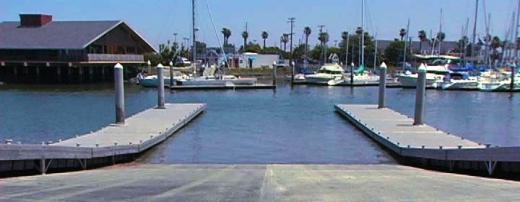 port launching ramp