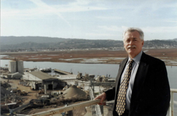 Mike Giari at Port