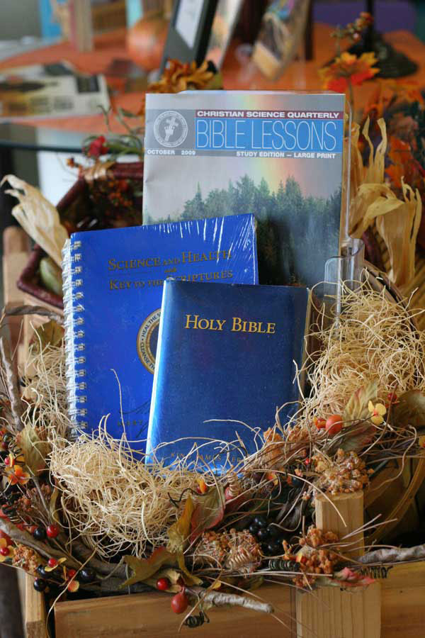 Photo of Bible lesson and books