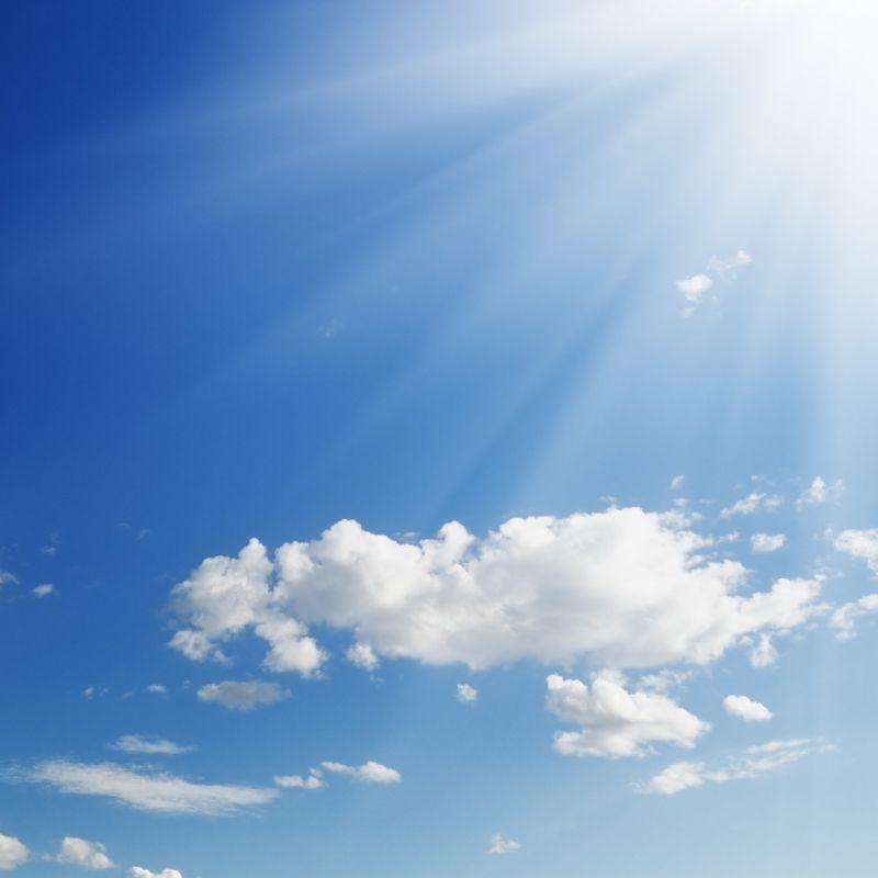 Photo of sun in sky
