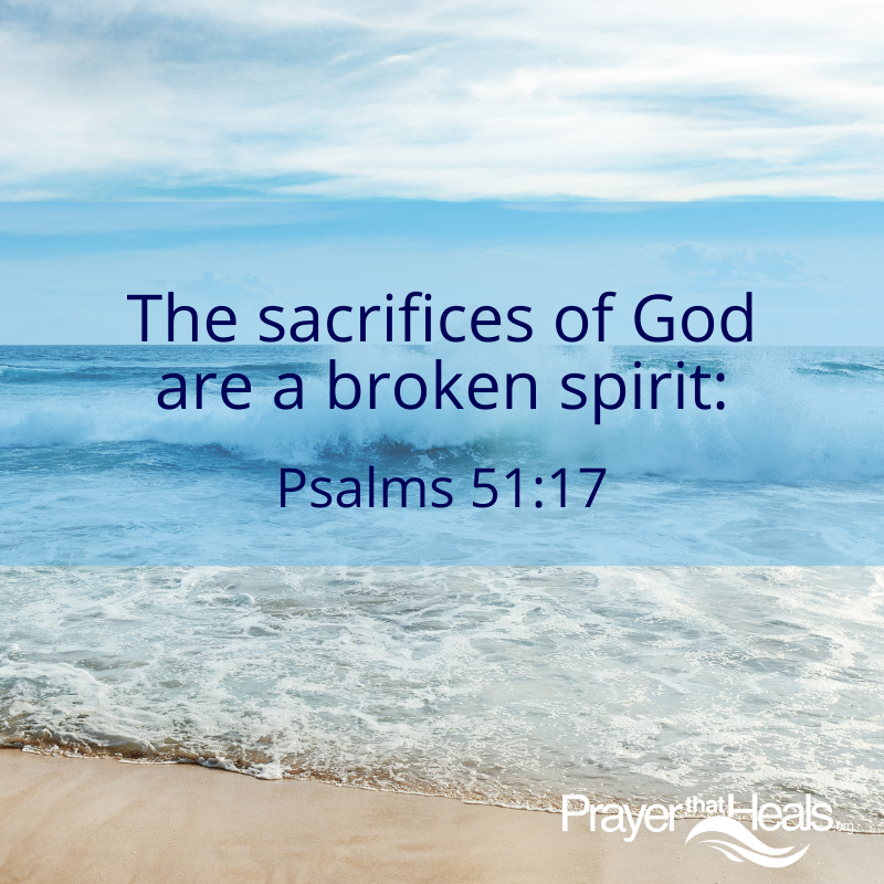 The sacrifices of God quote