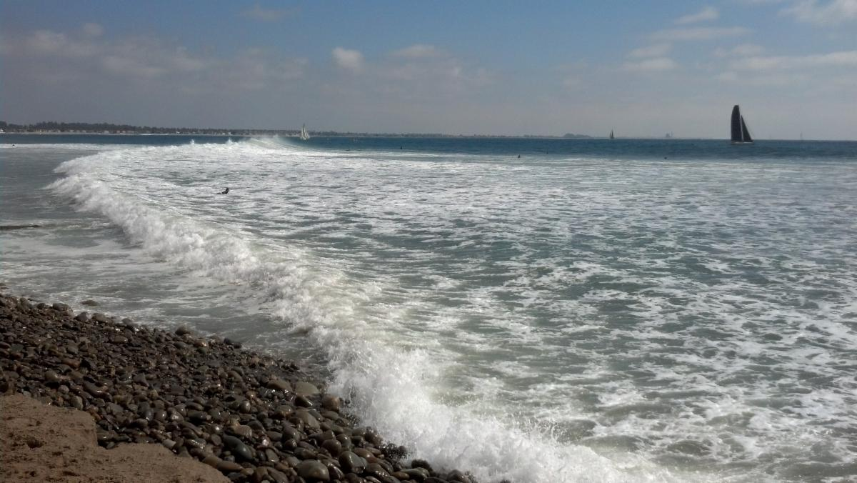 Photo of waves