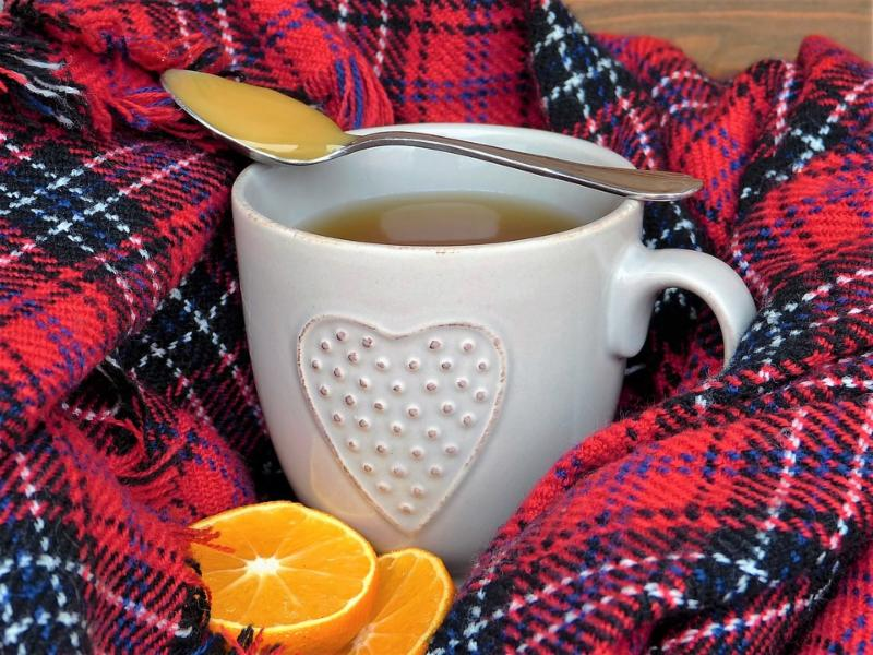 Cup for flu immune defense
