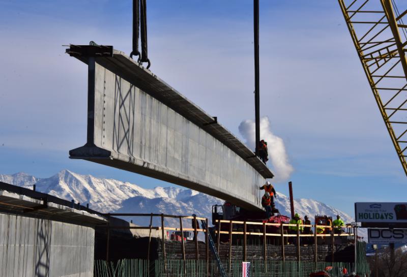 Project Spotlight - UTAH'S LONGEST PRECAST CONCRETE BRIDGE