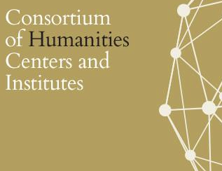 """Logo graphic that states """"Consortium of Humanities Centers and Institutes"""""""