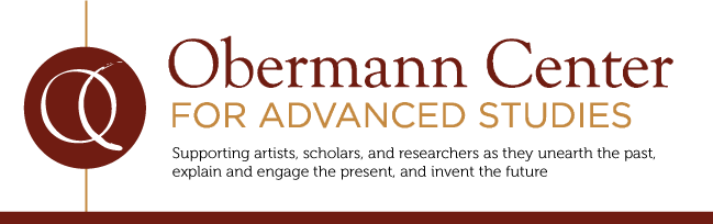 Obermann Center logo and tagline