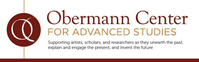 Obermann Center logo and tagline