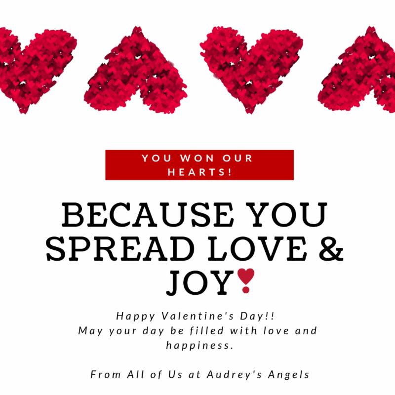 Audrey's Angels Valentine