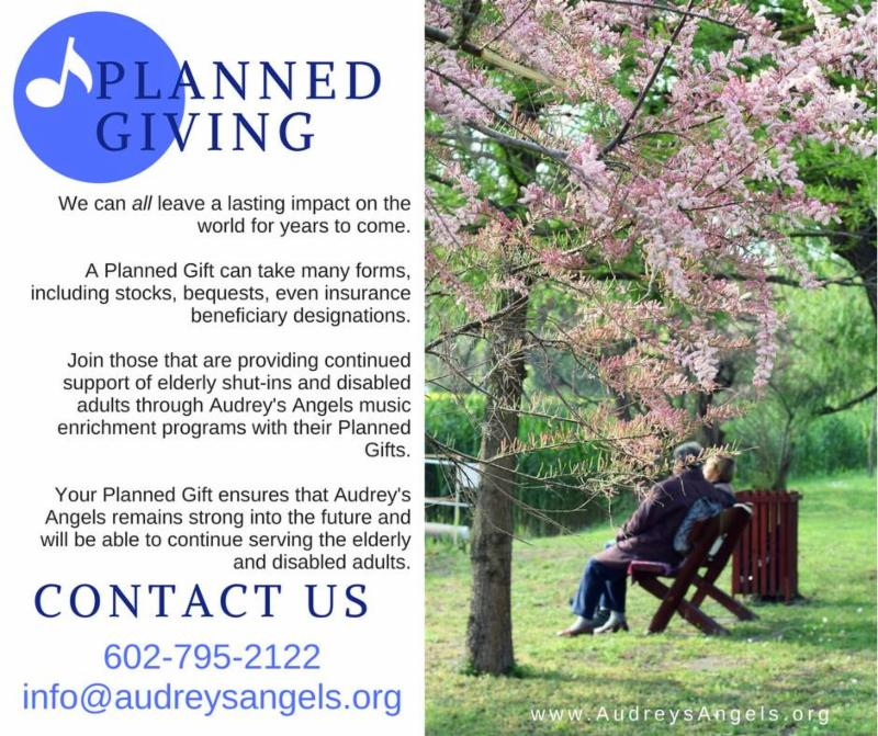 Audrey's Angels Planned Giving Program