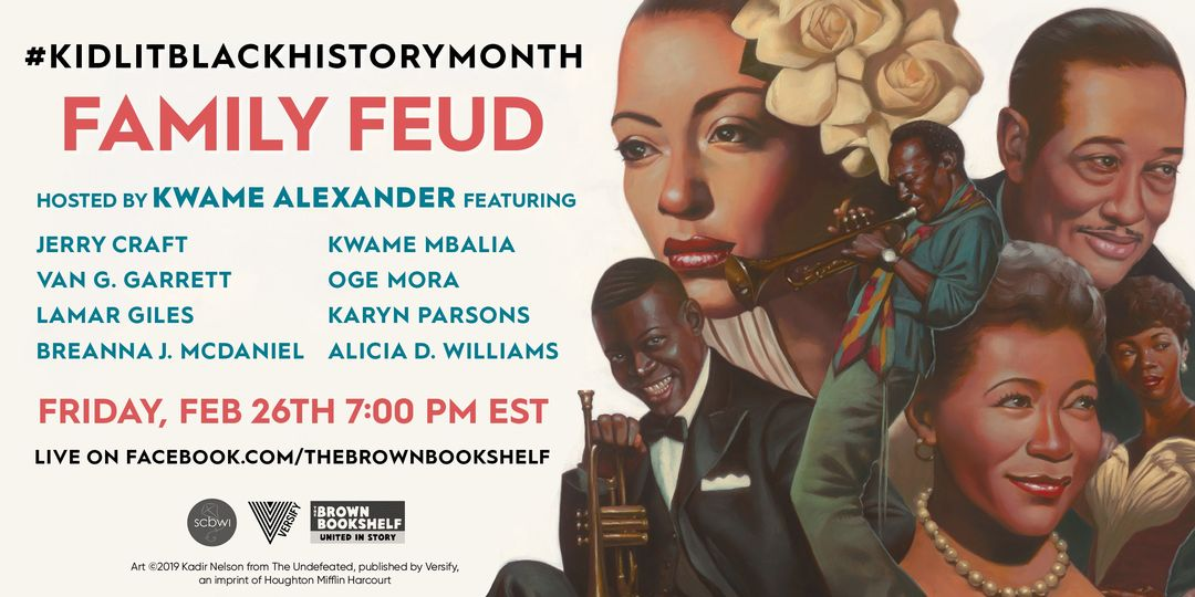SCBWI Black History Month Family Feud