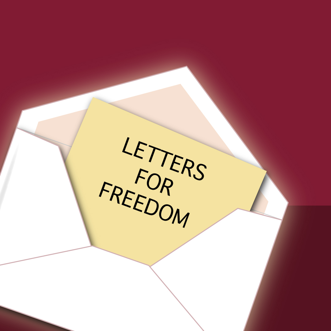 Tea and Letters - Writing for Freedom - 2020 August