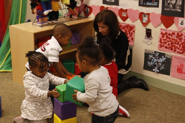 CHS Christie with toddlers