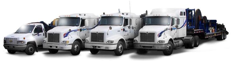 Wireline Spooling Trucks