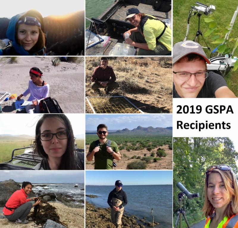 2019 GSPA Recipients