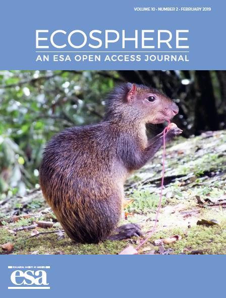 Ecosphere, Feb 2018