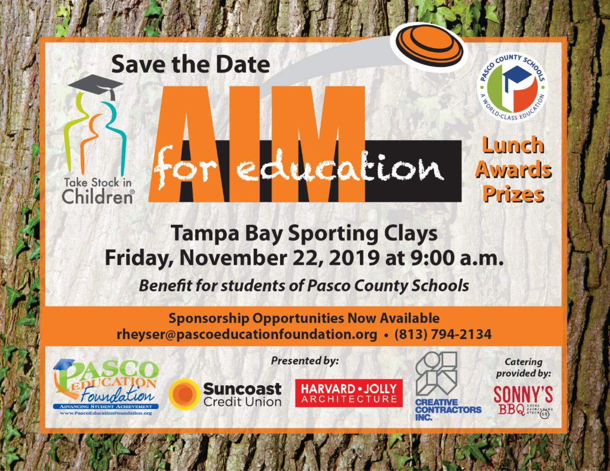 AIM for Education Save the Date 2019