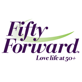 FiftyForward logo with tagline