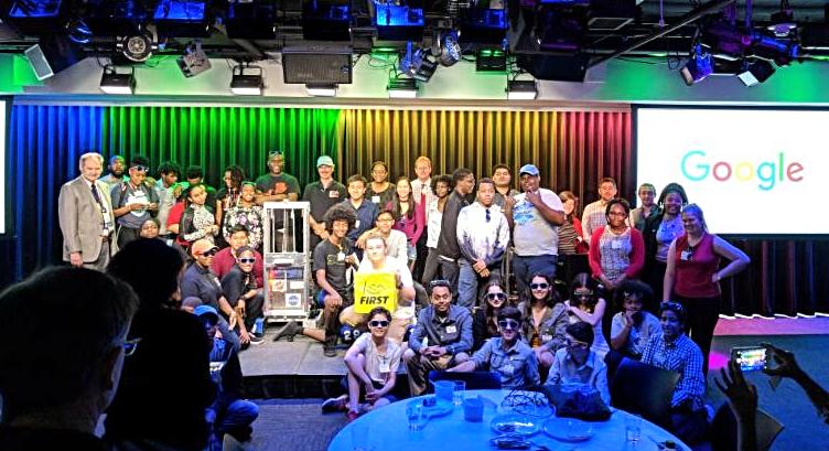 2018-06 google luncheon frc teams DC