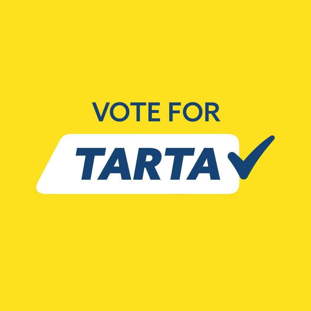 Vote for TARTA