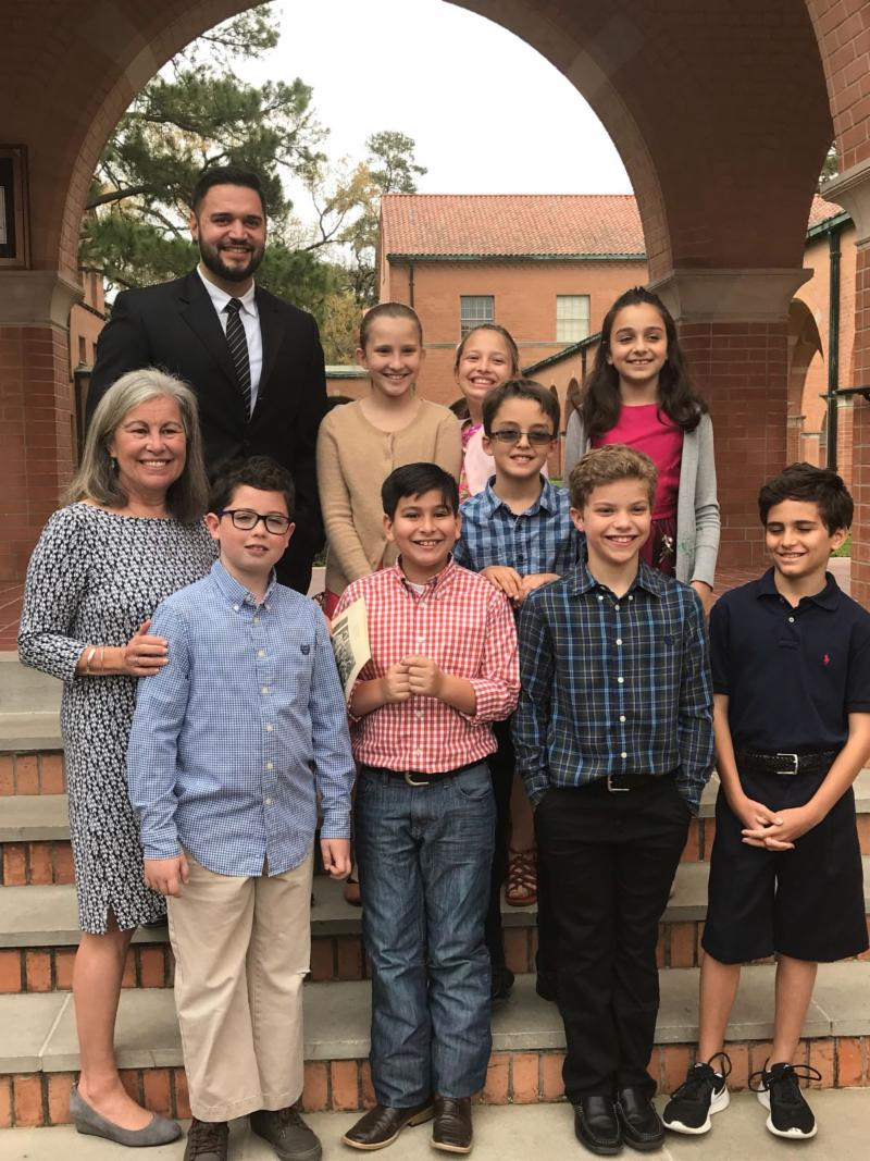 2017-2018 4th grade seminiarian