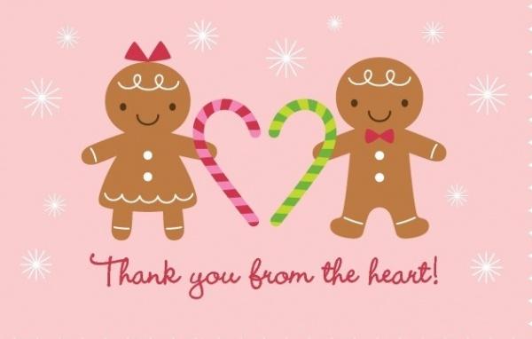 Christmas thank you
