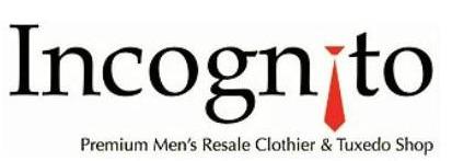 incognito menswear logo
