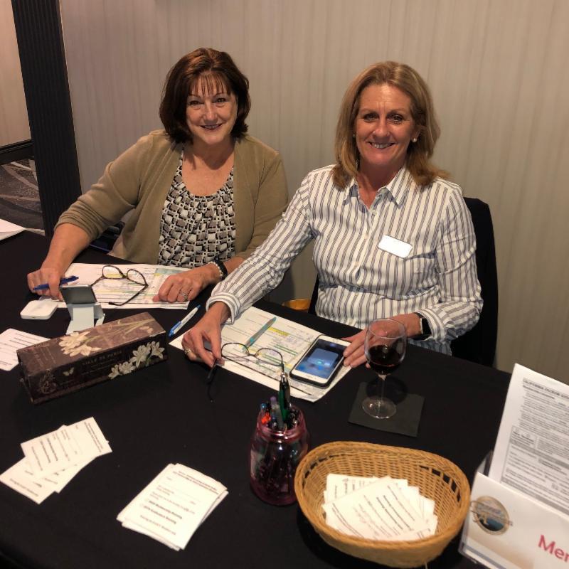 Debbie Anderson and Tania Kelley