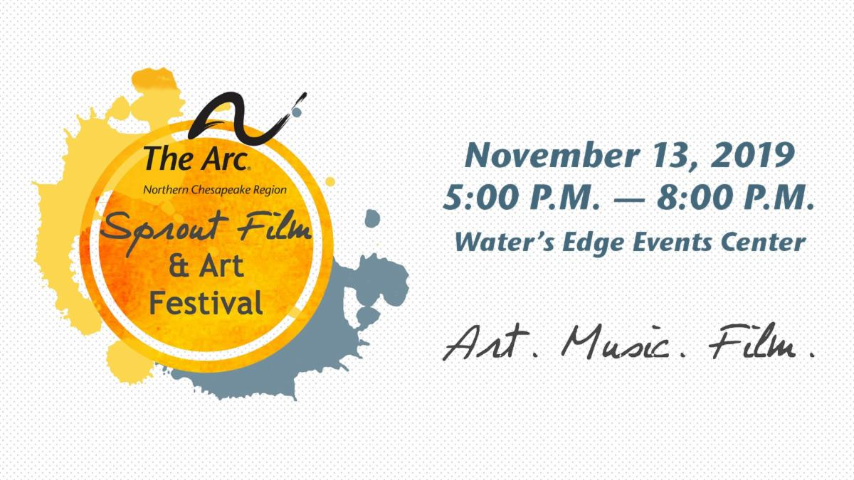 Sprout Film Festival. November 13, 2019 5:00 PM to 8:00 PM. Water's Edge Events Center. Art. Music. Film.