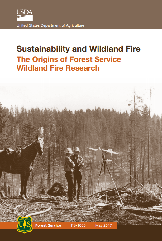 Book cover for %22Sustainability and Wildland Fire%22