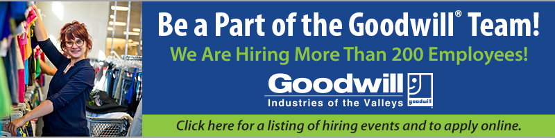 Be A Part of the Goodwill Team