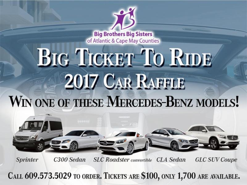 The Drawing Is October 18th At 8pm At Mercedes Benz Of Atlantic City.