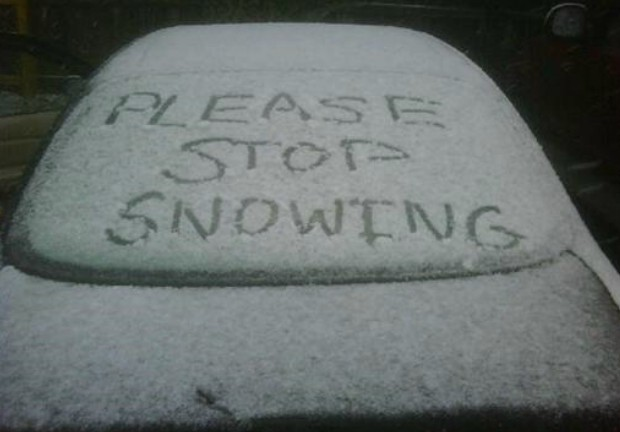 Please Stop Snowing