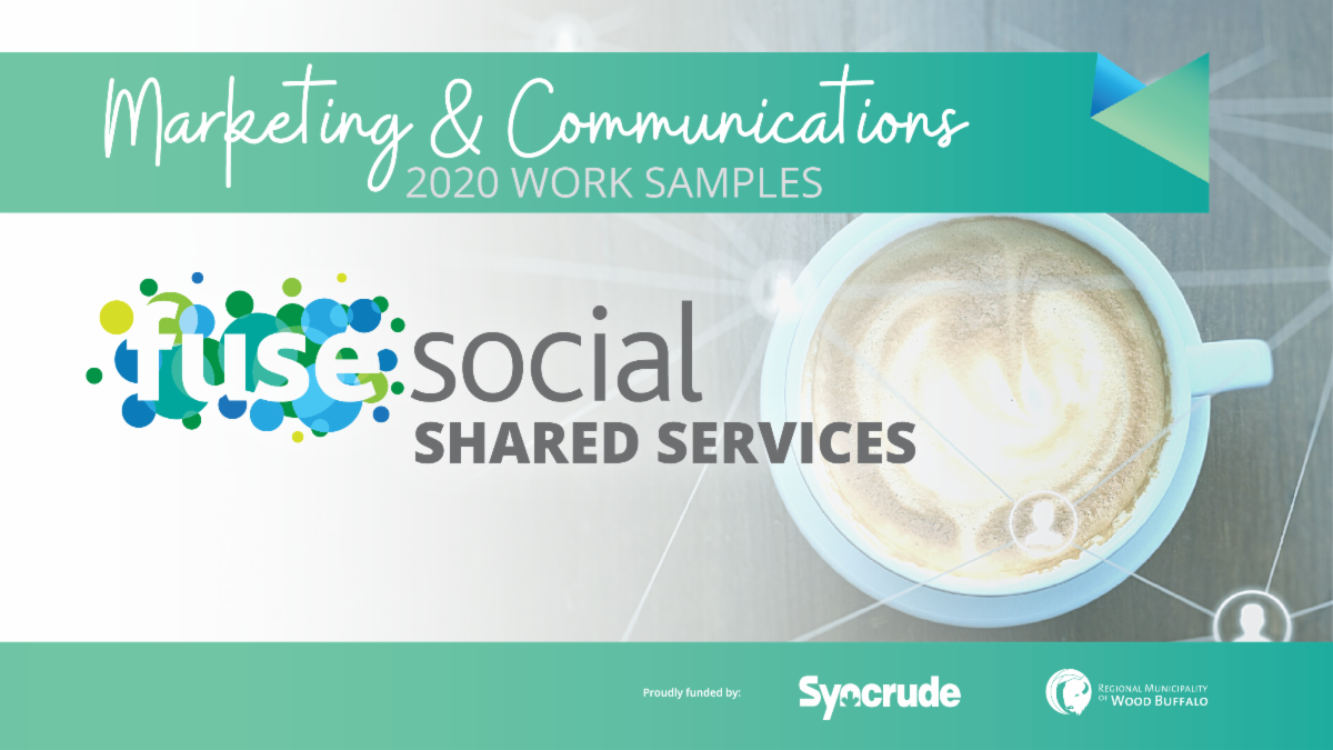 Work Samples from Shared Services Marketing & Communications