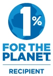 1% for the planet color logo