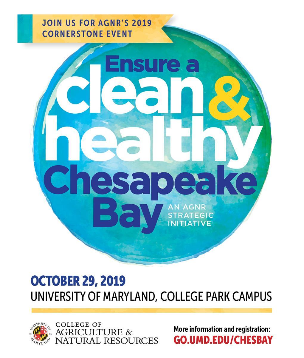 AGNR clean healthy Chesapeake event