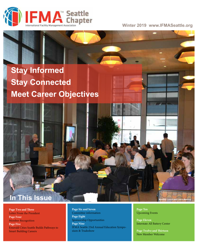 IFMA Seattle Newsletter