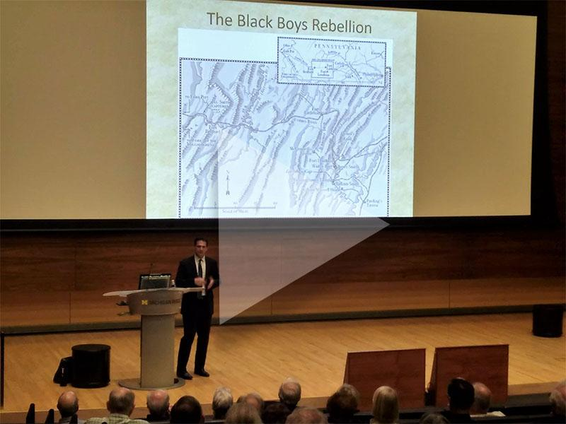 Photo from Patrick Spero's lecture