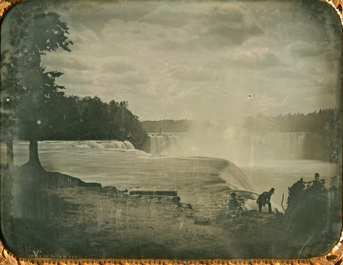 Niagara Falls by Thomas Easterly, 1852