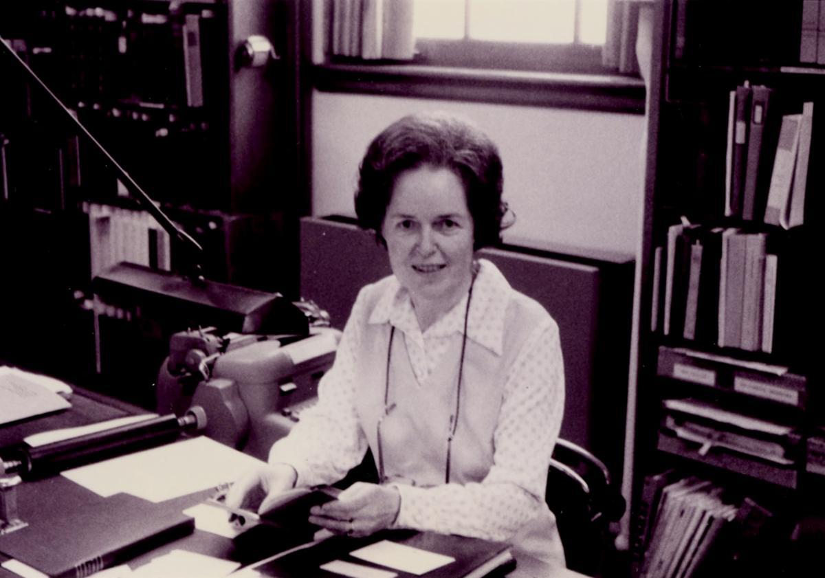 Georgia Haugh, Clements book curator 1945-1975