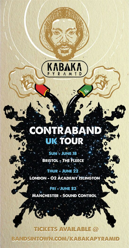 KABAKA PYRAMID ANNOUNCE FIRST SINGLE OFF HIS DEBUT ALBUM and UK TOUR DATES 8